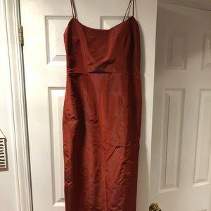 Cynthia Rowley Maxi Slip Dress